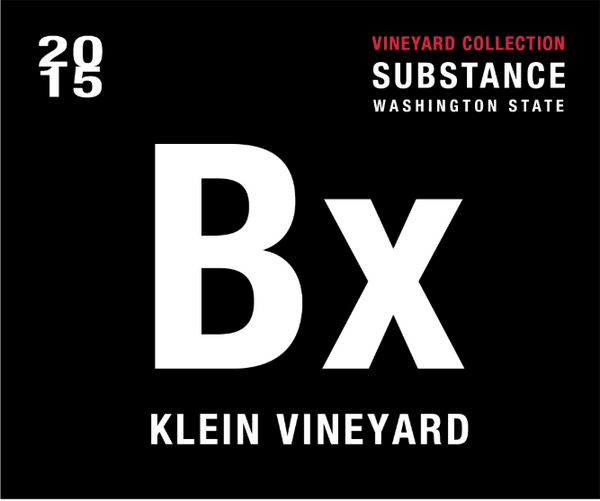 Substance Klein Vineyard Bx Blend 2015