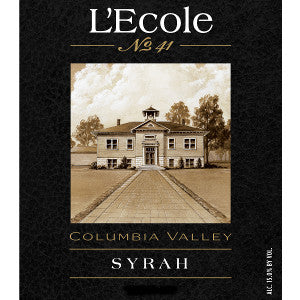 L'Ecole #41 Columbia Valley Syrah 2017