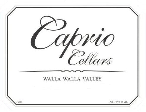 Caprio Cellars Walla Walla Estate Red 2017