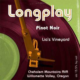 LongPlay Lia's Vineyard Pinot noir 2013