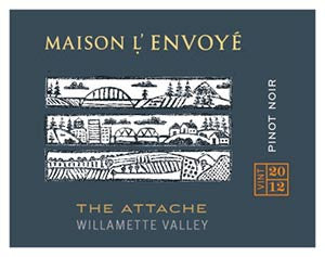 Maison l'Envoyé The Attaché Pinot noir 2013