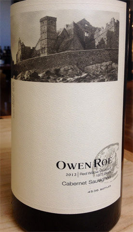 Owen Roe Red Willow Vineyard 1973 Block Cabernet Sauvignon 2013