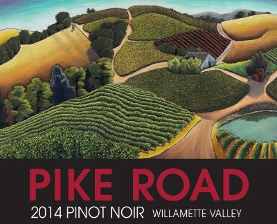 Pike Road Willamette Valley Pinot noir 2015