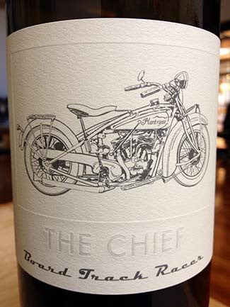 Board Track Racer The Chief Red 2014