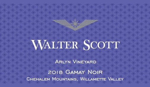Walter Scott Arlyn Vineyard Gamay noir 2018
