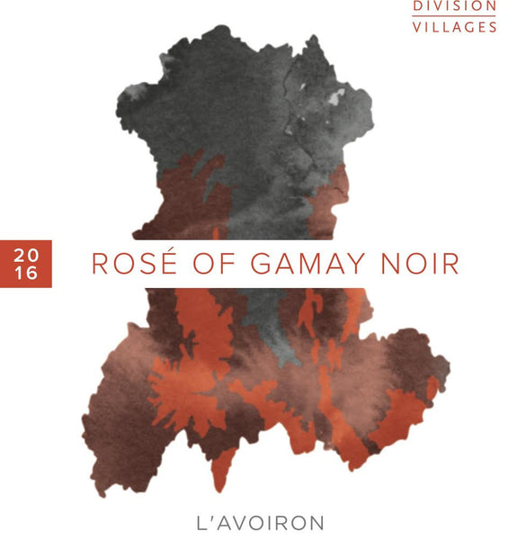 Division Villages L'Avoiron Gamay Rosé 2017
