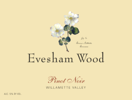 Evesham Wood Willamette Valley Pinot noir Select Cuvee 2018