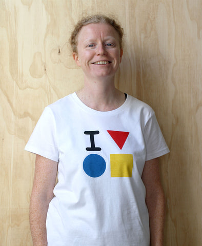 'I love the Bauhaus' tee shirt