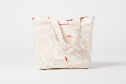 Canvas tote bag 'Frangipani'
