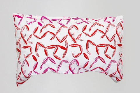 Frangipani pillowcase