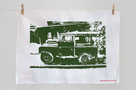 Land Rover Series 1  tea towel