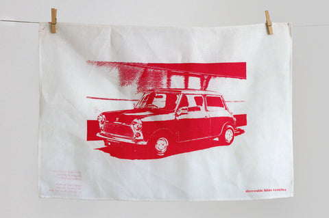 Mini tea towel