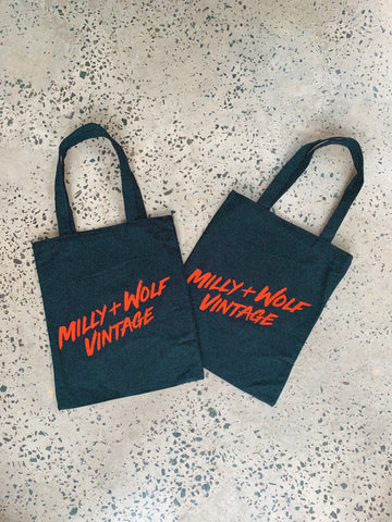 MILLY + WOLF TOTE BAG
