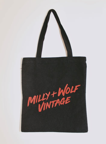 MILLY + WOLF VINTAGE TOTE BAG