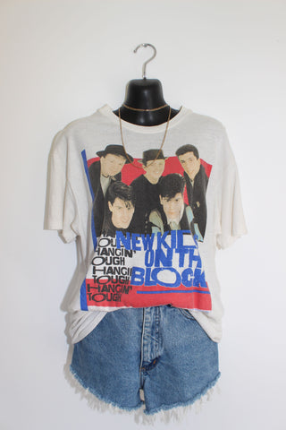 1989 VINTAGE NEW KIDS ON THE BLOCK TEE S