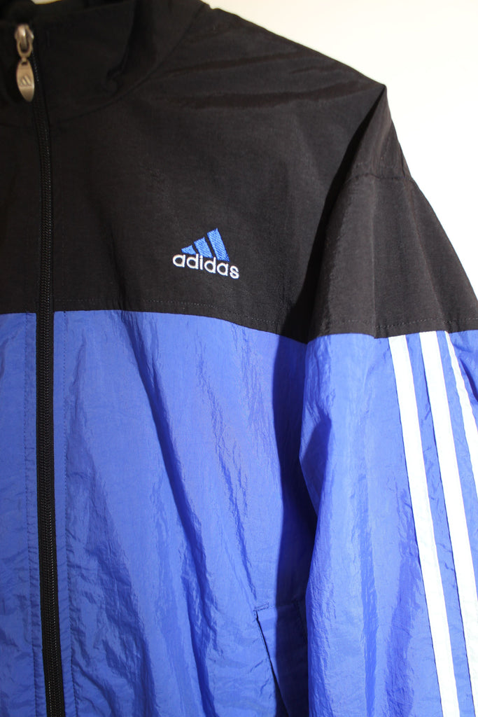 90s VTG ADIDAS WINDBREAKER JACKET (S) ★
