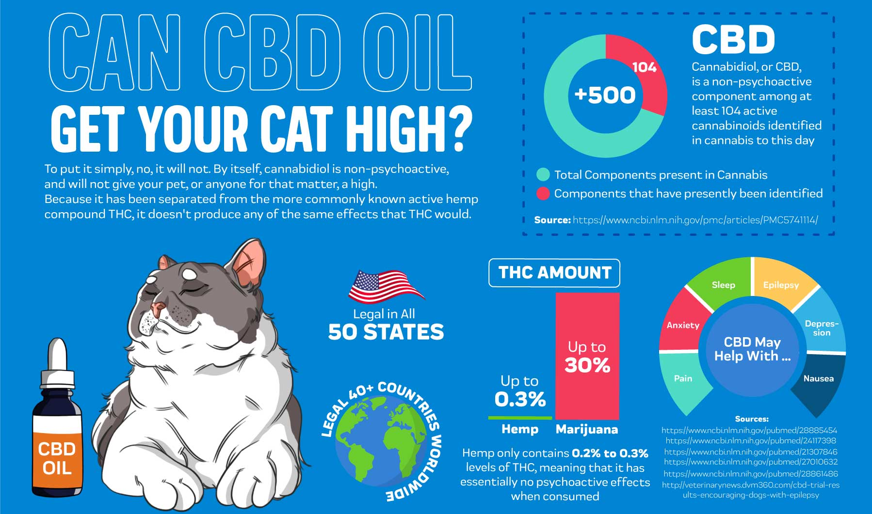 Can CBD Oil Get Your Cat High
