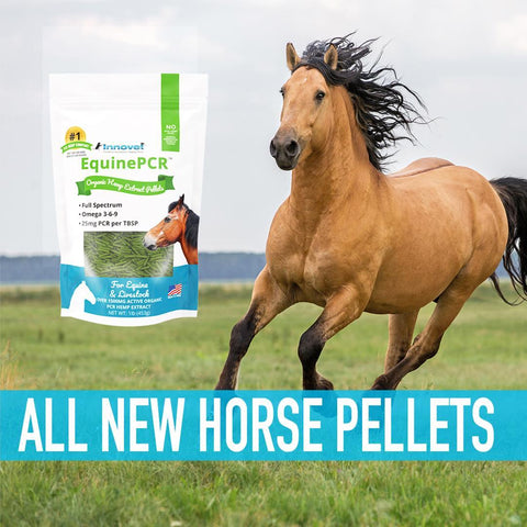 Equine Hemp PCR - CBD Pellets for Horses and Livestock