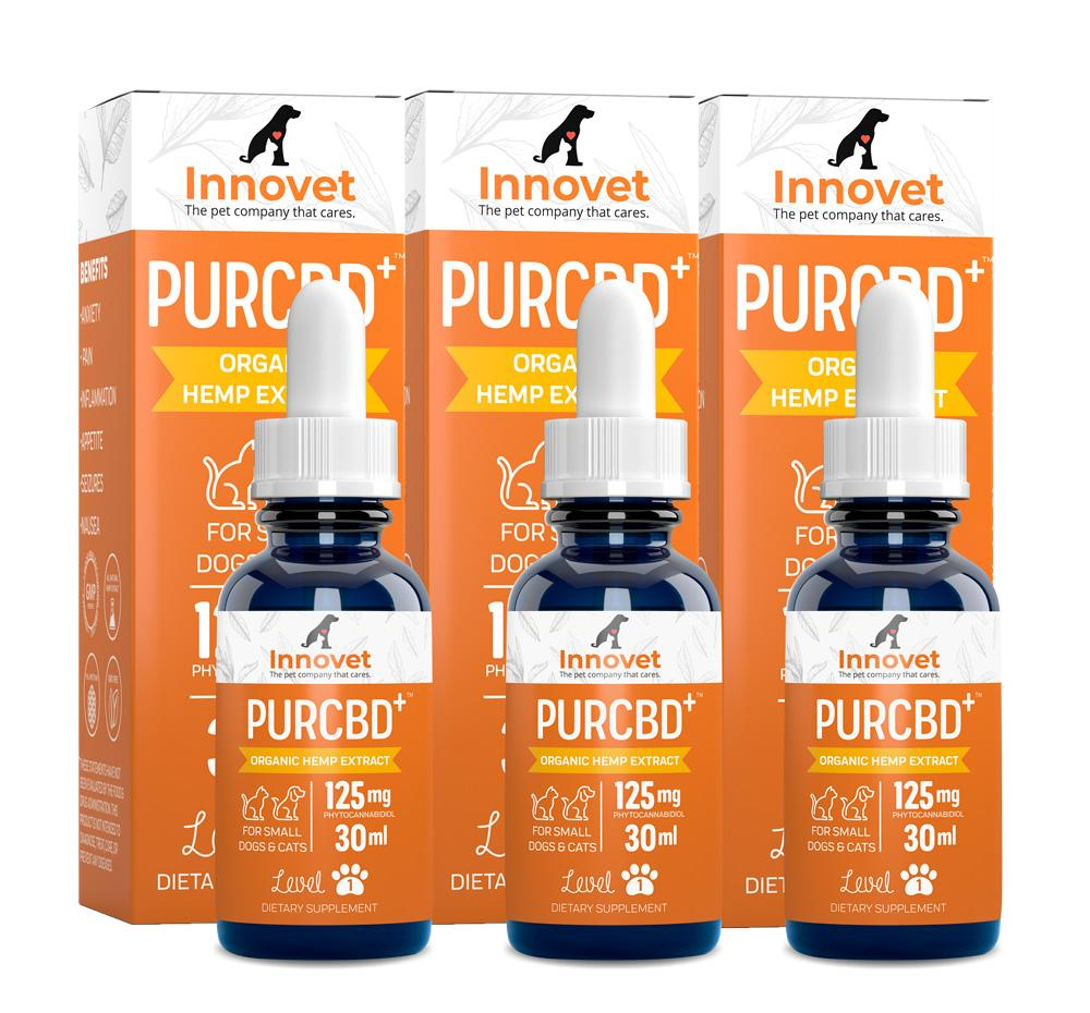 CBD Oil Triple Value Pack - | Innovet Pet