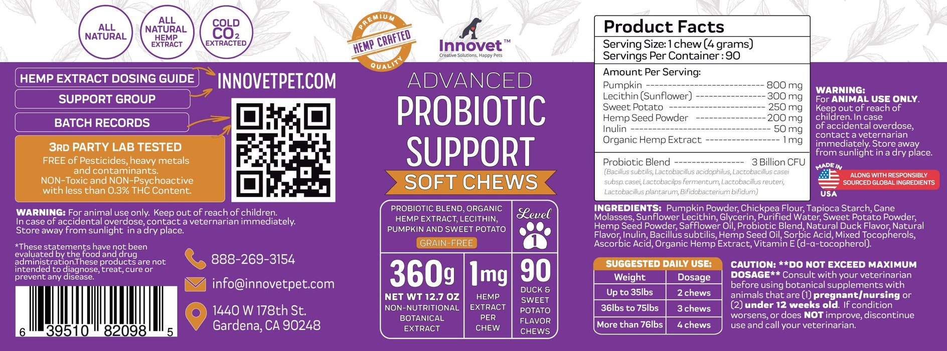 Advanced Probiotic Chews [NOW AVAILABLE!]