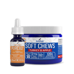 CBD Oil and Treats Bundle for Small Dogs