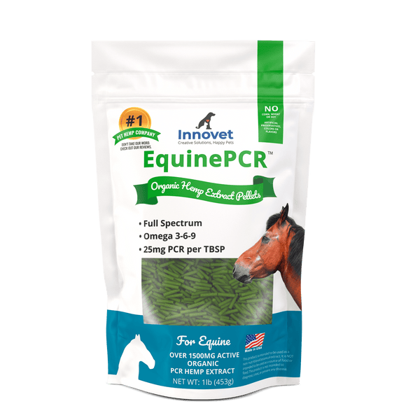 Equine Hemp PCR - CBD Pellets for Horses - | Innovet Pet
