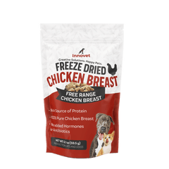 FREEZE DRIED CHICKEN BREAST | Innovet Pet Products