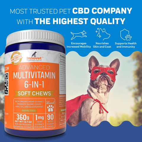 Advanced Multivitamin Soft Chews | Innovet Pet