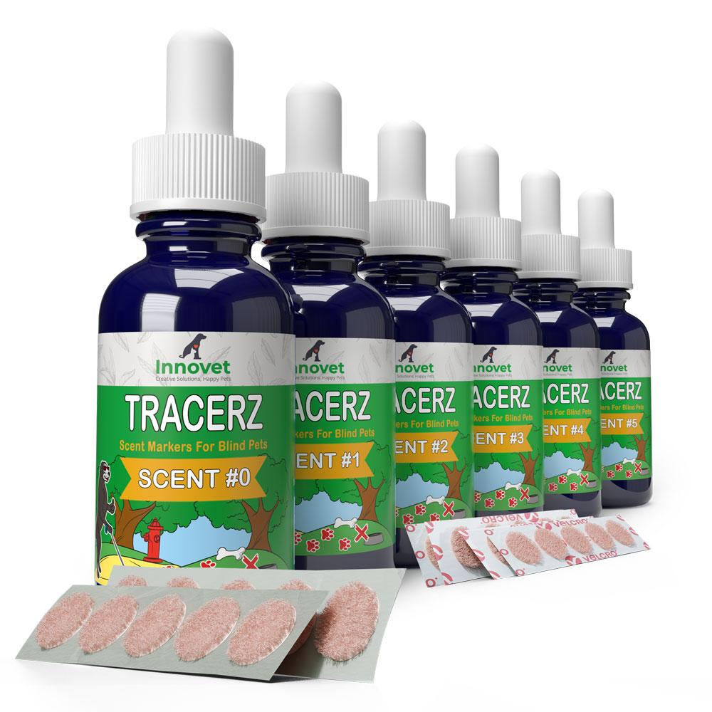 Tracerz® Scent Markers for Blind Dogs