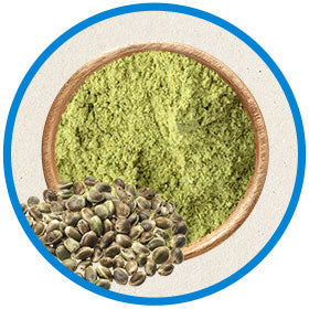 organic hemp seed powder