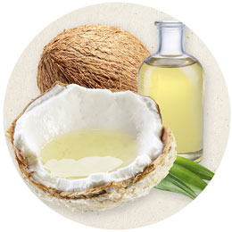 natural ingredients like coconut for dry ,itchy skin