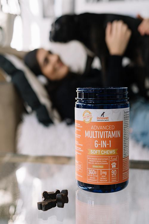 Giving your dog a multivitamin