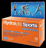 2x Hydralyte Sports Sachet Total 24 Lemon/Lime or Orange Electrolyte Replacement