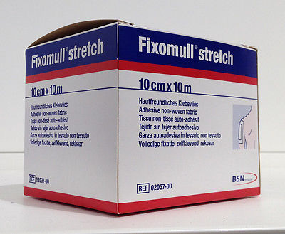 Fixomull Stretch Genuine BSN 10cmx10m Adhesive non-woven fabric *Made in Germany