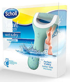 Scholl Velvet Smooth Super Bundle Wet Dry Footfile + Nail Care Systems + Refills