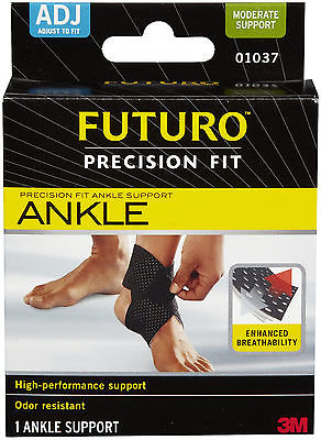 Genuine 3M Futuro Precision Fit Ankle Support Provides compression and support