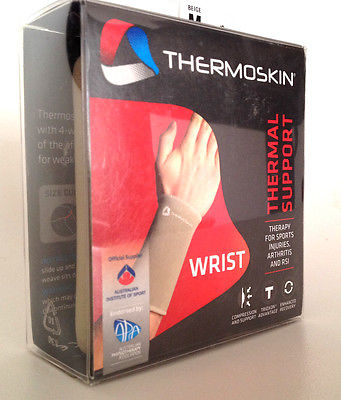 Thermoskin Wrist Thermal Support Size XL Beige 86216 Trioxon Advantage *NEW