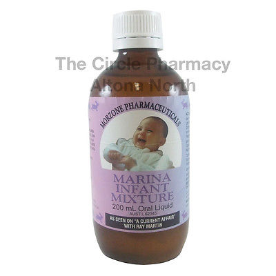 Marina Infant Mixture For the Relief of Symptoms of Wind, Colic and Reflux