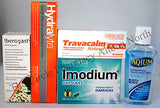 Bali Belly Travel Pharmacy Package Prevent and Treat Travellers Diarrhoea Light