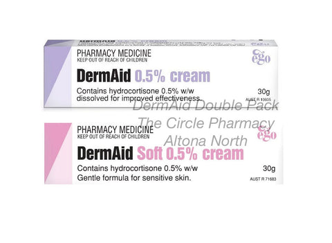 Genuine Dermaid Cream and Soft Double Family Pack  Gentle cream