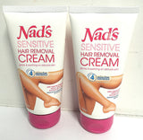 2x The Original Nad's Hair Removal Cream Sensitive For Women Painless depilatory