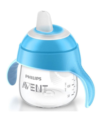 Philips Avent Spout Cup Soft Grip for little Hands Sip No Drip 6m+ 200ml 7oz NEW