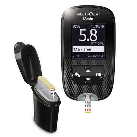 Accu-Chek Guide Wireless Blood Glucose Meter & Lancing Device up to $40 Cashback