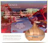 In Essence Bamboo Vaporiser - Australian Native Wood Grain Finish Aroma Diffuser