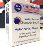 Slumber Guard Anti-Snoring Device + FREE Sleeping Blind *Mouth Guard* *BPA Free*