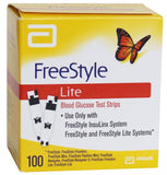 FreeStyle Lite Blood Glucose Strips 100