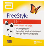 Abbott FreeStyle Lite Blood Glucose Strip - 100 Pack