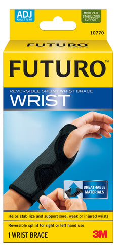 Genuine 3M Futuro Adjustable Reversible Splint Wrist Brace