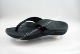 Genuine Scholl Orthaheel Orthotic Sonoma Thong in Black Patent
