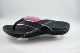 Genuine Scholl Orthaheel Orthotic Sonoma Thong in Black